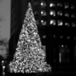 Christmas Tree in Bokeh photography